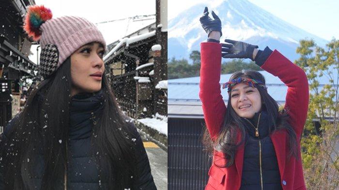 Makin Langsing dan Seksi, Yuk Intip 5 Gaya Trendi Gracia Indri Saat Liburan Ke Jepang!