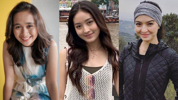 PERBANDINGAN 7 Artis Pakai Make Up Tebal vs Natural, Natasha Wilona Hingga Raline Shah, Cantik Mana?