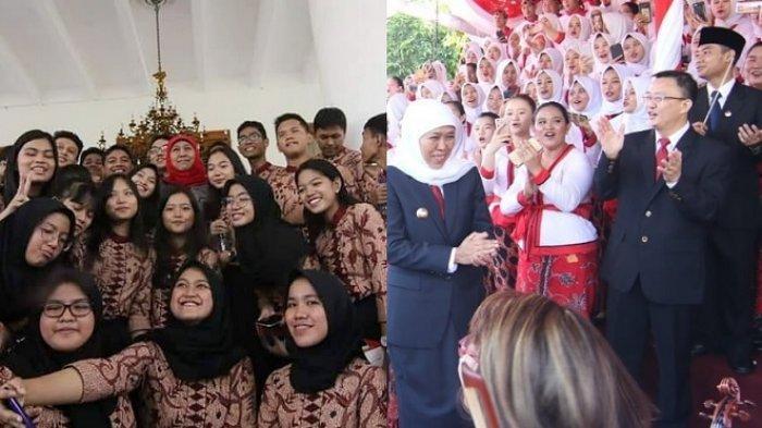 Viral Postingan Gubernur Jatim Khofifah Mulai Juli 2019 Gratiskan SPP Semua Siswa SMA/SMK Negeri