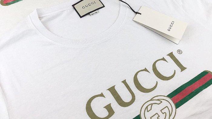 5d77566b Begini Cara Mengenali Asli atau Palsu Oversize washed T-shirt dari Gucci  yang Harganya Selangit