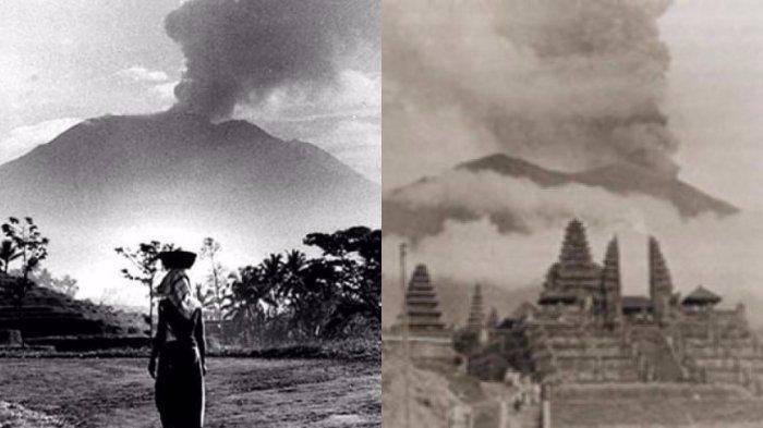 17 Maret dalam Sejarah: Gunung Agung di Bali Meletus, Langit Gelap Gulita, Kepanikan Dihantui Kiamat
