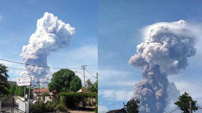 Viral Video dan Foto Gunung Soputan Muntahkan Lava dari Kawah, BNPB: Itu HOAX