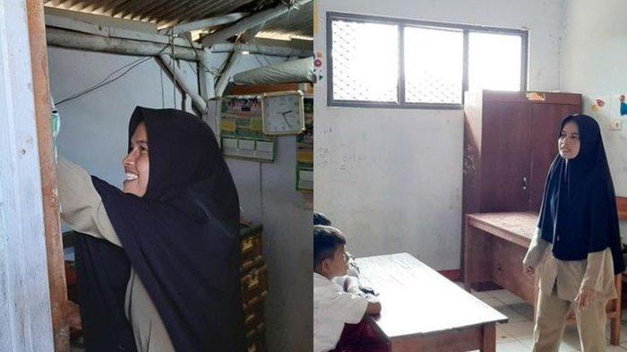 Kisah Miris Guru Honorer di Banten Tinggal di WC Sekolah dan Hanya Digaji Rp 350.000 Per Bulan