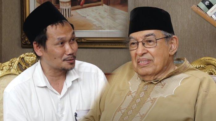 Gus Baha dan Quraish Shihab.