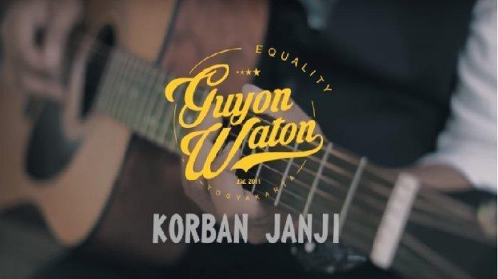 Chord Kunci Gitar Lagu Korban Janji Milik Guyon Waton, Sangat Cocok dan Mudah untuk Para pemula