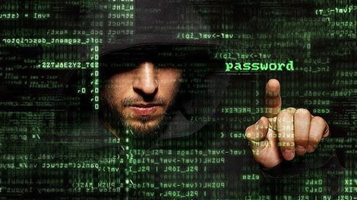 Ilustrasi Hacker Spyware Whatsapp