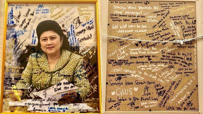 Mendapat Kiriman Bingkai Cantik dari Penggemar, Ani Yudhoyono: Buat Saya Tambah Semangat