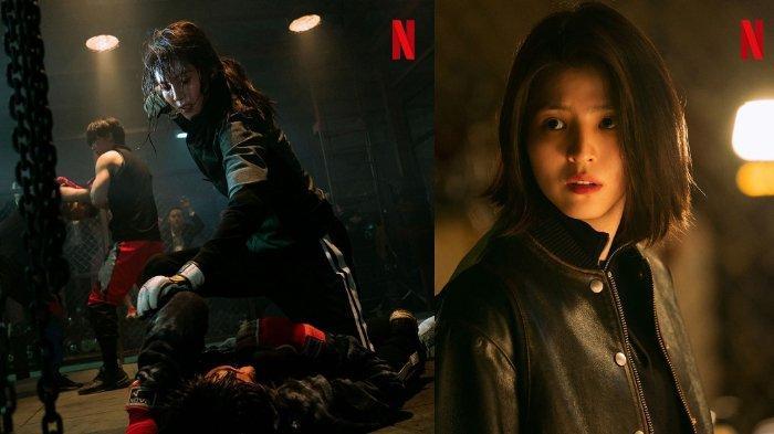 Han So Hee perankan Yoon Ji Woo di drama My Name