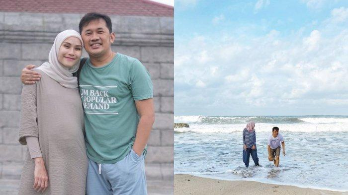 Bahagia Diajak Hanung Bramantyo Liburan ke Pantai Sebelum Melahirkan, Zaskia Adya Mecca Bersyukur
