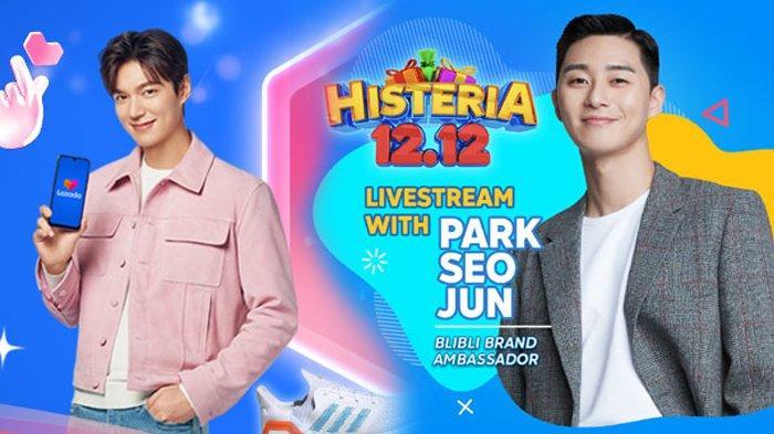 Harbolnas 12.12, Sejumlah E-commerce Gandeng Artis Korea: Lazada Lee Min Ho, Blibli Park Seo Jun