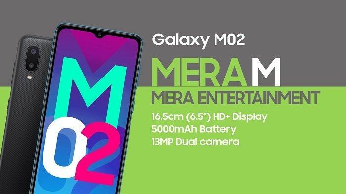 Harga Cuma 1 Jutaan, Ini Spesifikasi Samsung Galaxy M02, Dibekali Baterai 5000 mAh dan RAM 2GB