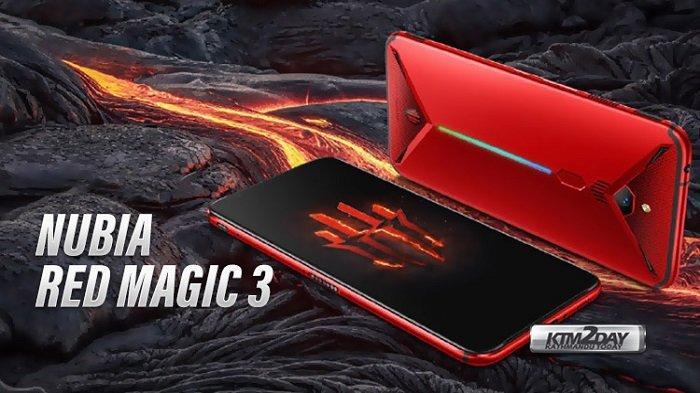 Harga dan Spesifikasi Nubia Red Magic 3, Ponsel Gaming 6 Jutaan dan Miliki Pendingin Canggih