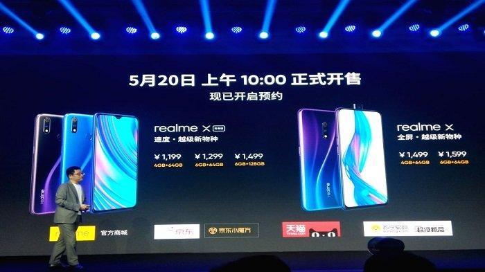Harga dan Spesifikasi Realme X Lite, Dirilis Bersamaan Realme X Kembaran Realme 3 Pro?