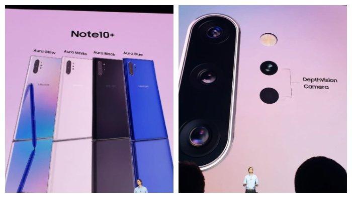 Harga dan Spesifikasi Samsung Galaxy Note 10 dan Note 10 Plus, Hadirkan Pre-Order di Indonesia