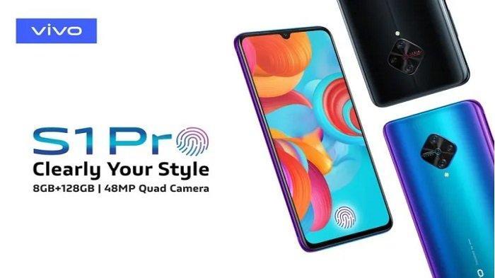 Daftar Harga HP Vivo Terbaru Januari 2020, Vivo S1 Pro Fancy Sky Edisi Terbatas Seharga Rp 3,9 Juta