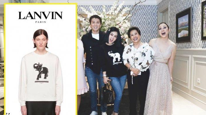 Syahrini Pakai Kaus & Celana Jeans ke Acara Ultah Sahabat, Harga Outfitnya Capai Puluhan Juta!