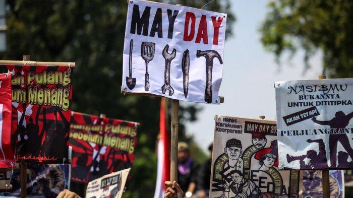 MAY DAY! Ini Ucapan Selamat Hari Buruh 1 Mei, Bagikan ke WhatsApp atau Jadi Status di Media Sosial