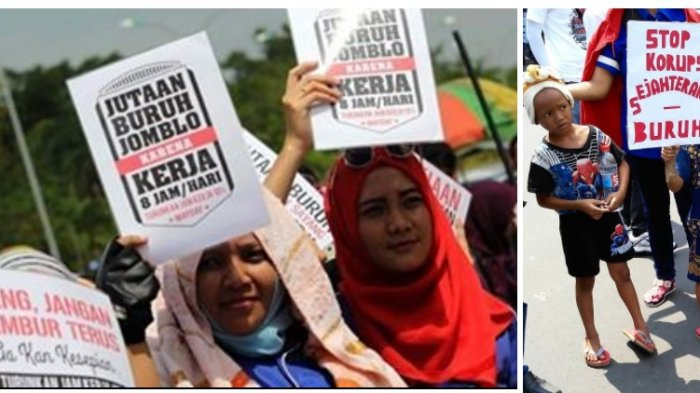 Hari Buruh, Ratusan Jomblowati Gelar Unjukrasa Protes Jam Kerja, Dianggap Penyebab Susah Jodoh