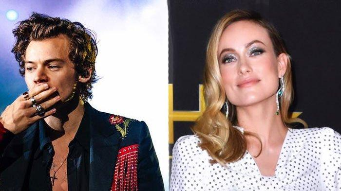 Benarkah Harry Styles Pacaran dengan Olivia Wilde? Ini Faktanya: Terlihat Bergandengan Tangan