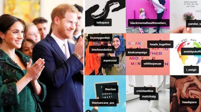 Ini Alasan Pangeran Harry & Meghan Markle Unfollow Instagram Pangeran William & Kate Middleton