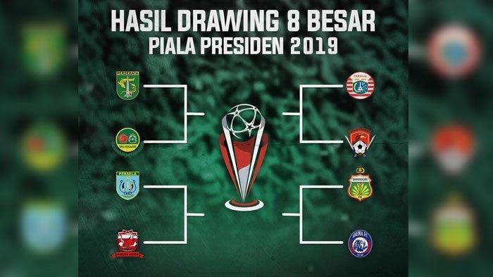 Hasil Drawing Piala Presiden 2019 - Lawan Tira-Persikabo Lagi, Ini Respon Pelatih Persebaya Djanur