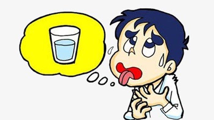 Ilustrasi dehidrasi