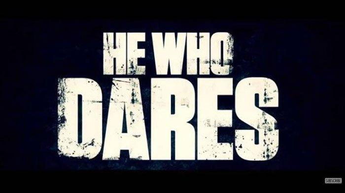Poster film He Who Dares.