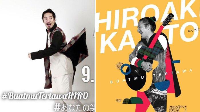 Hiroaki Kato - Pria Kelahiran Jepang Ini Rilis Single Baru di Indonesia, Pakai Bahasa Ibu Pertiwi!