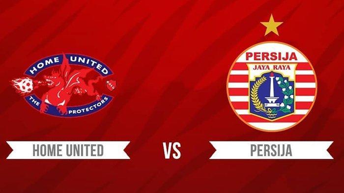 Hasil Home United vs Persija Jakarta Sedang Berlangsung Live Streaming Babak Pertama Skor Imbang 1-1