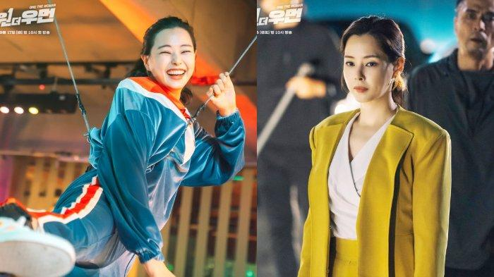 Honey Lee dalam drama Korea One the Woman