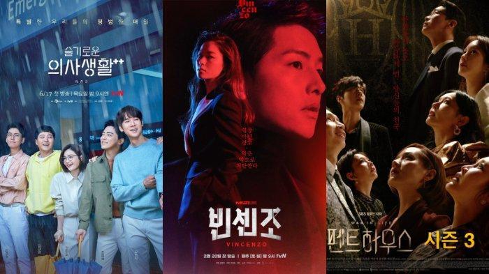 Hospital Playlist 2, Vincenzo, hingga Penthouse, 7 Drama Korea Ini Raih Rating Tinggi di Tahun 2021!