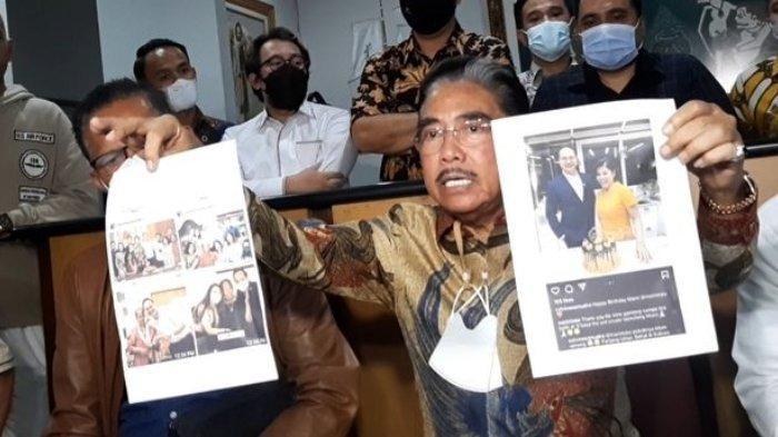 Hotma Sitompul tunjukkan foto Desiree Tarigan dengan pria lain