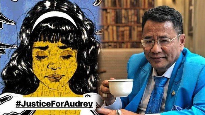 Penampilan Audrey Korban Kasus Pengeroyokan Saat Bertemu Hotman Paris Tuai Perhatian