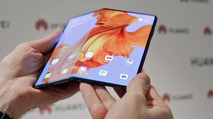 Jadi Pesaing Layar Lipat Samsung Galaxy Fold, Ini Penampakan Hingga Spesifikasi Huawei Mate X