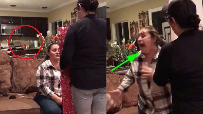 Wanita Dapat Kado Natal Sebuah Cermin, tapi Saat Lihat Bayangan yang Tampak, Ia Langsung Berteriak!