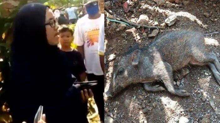 Ibu-ibu di Kota Depok menuding tetangganya telah melakukan pesugihan babi ngepet.