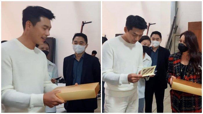 Ibunda Alika, Yuanita Rohali kirimkan hadiah spesial untuk Hyun Bin.