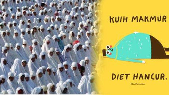 Kumpulan Gambar Lucu Ucapan Selamat Idul Fitri 1439 H! Bisa Untuk Dikirim dan Instastory!