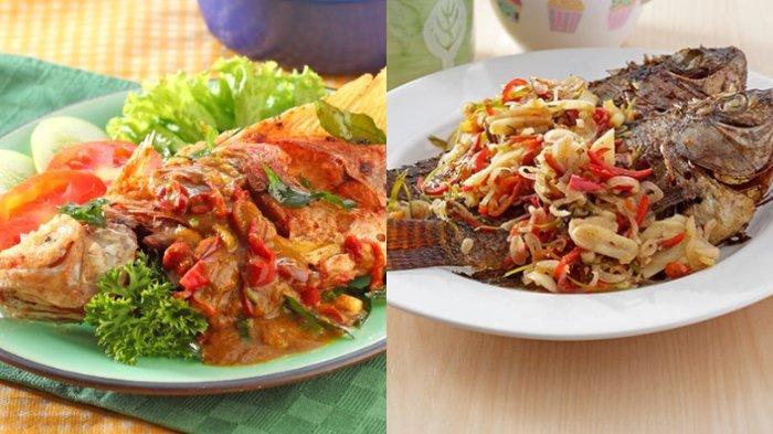 5 RESEP Ikan Goreng Berbagai Bumbu, Masakan Spesial Buat Keluarga di Rumah, Sambal Matah, Saus Kari