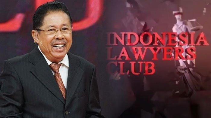 Karni Ilyas dan acara Indonesian Lawyers Club di tvOne yang dipandunya.