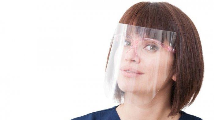 Waspada! Pakai Face Shield Tanpa Masker Tetap Bisa Kena Covid-19, Tanpa Disadari Begini Penularannya