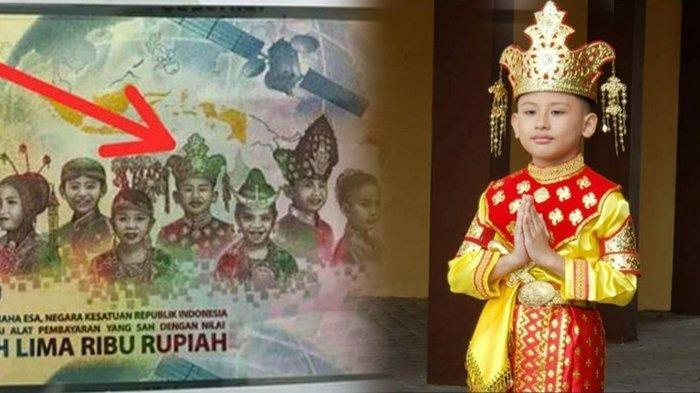 BANTAH Bocah di Uang Rp 75 Ribu Pakai Baju China, Keluarga: Ayah Ibunya Asli Melayu Pontianak!