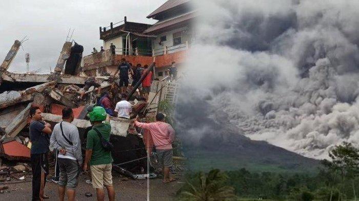 Baru Awal Tahun, 5 Bencana Alam Ini Terjadi di Januari 2021, Gempa Sulbar hingga Erupsi Semeru