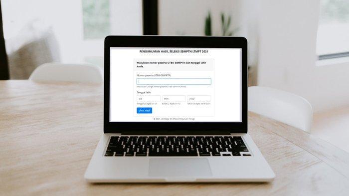 Akses Pengumuman-sbmptn.ltmpt.ac.id, Simak Cara Cek Skor UTBK dan Cetak Sertifikat SBMPTN 2021