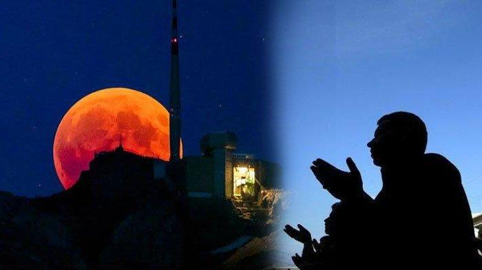 Doa dan dzikir saat Supermoon atau gerhana bulan.
