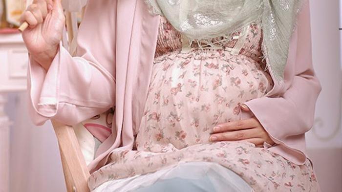Ilustrasi ibu hamil