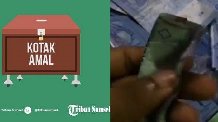 PENGURUS Masjid Heran, Setiap Jumat Ada Infak Rp 350 Ribu Disembunyikan Dalam Gulungan Uang Rp 3500