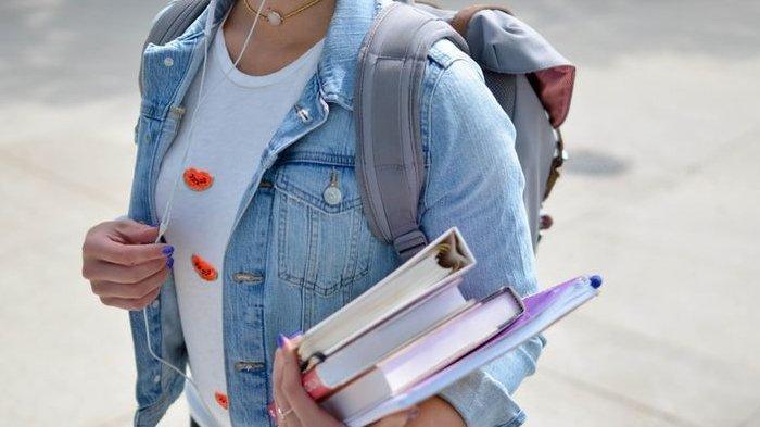Ilustrasi mahasiswa atau pelajar.