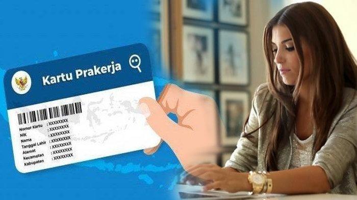 Ilustrasi mendaftar atau membuat akun Kartu Prakerja.