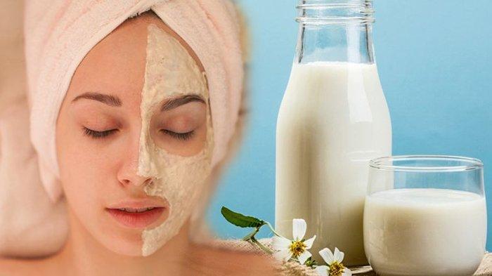 Cara Merawat Kecantikan Kulit Wajah dengan Masker Susu Buatan Sendiri, Campurkan Bahan Ampuh Lainnya
